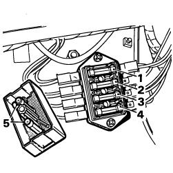 Pièces détachées Austin Mini: JEU DE FUSIBLES MINI 1976-1995