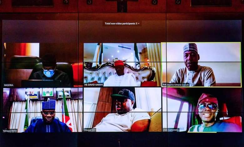Buhari, governors call for protection of civilians, improved intelligence sharing