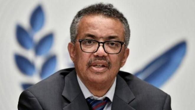 WHO boss Dr Tedros Adhanom Ghebreyesus said globalisation had allowed the virus to spread more quickly
