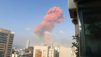 Photo of Many injured as large blast rocks Beirut