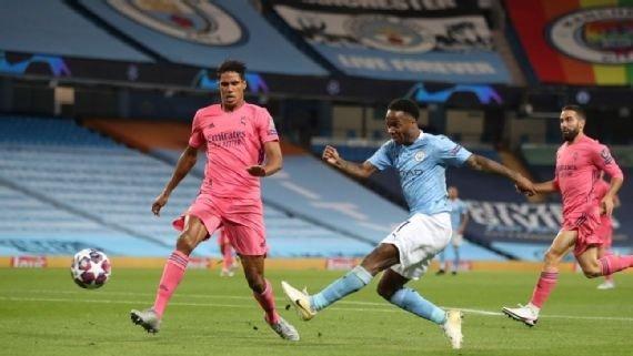 Varane against Manchester City
