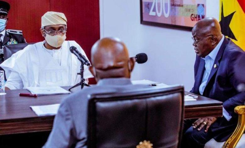 Ghana to work towards resolving trade dispute, Akufo-Addo tells Gbajabiamila