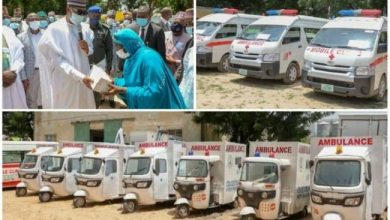 Photo of Zulum distributes 71 ambulances, drugs to 71 health centres