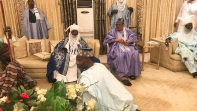 Photo of Kano emir visits IBB, Abdulsalam in Minna (+photos)
