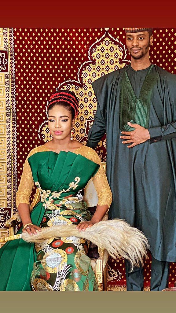 Pre-wedding pictures of Bashir El-Rufai and Halima Ibrahim Kazaure