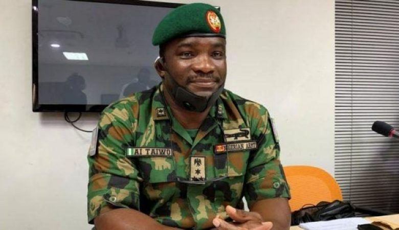 Brig Gen Ahmed Taiwo vigorously defended his troops against accusations they killed unarmed protesters