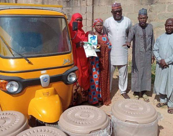 Asiya, The Ice Lady gets a brand new tricycle