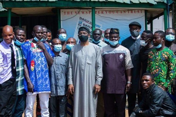 Gbajabiamila meets Abuja vendors over dead colleague, vows justice
