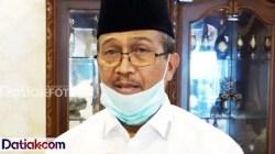 Bupati Kabupaten Solok, Gusmal membahas kepulangan perantau Solok. (Foto: Istimewa)