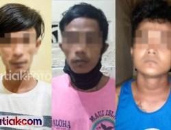 Salut, Polisi Tangkap Tiga Pencuri Dalam Semalam