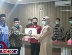 Iriadi-Agus jadi Paslon Nomor Urut 4 di Pilkada Kabupaten Solok