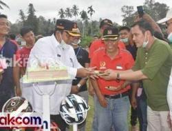 Turnamen Kampung Bendang FC Diapresiasi Suhatri Bur