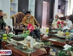Danlanud Temui Suhatri Bur Bahas Kejurnas Gantole di Padangpariaman