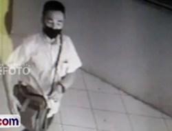 Pencurian di DPKD Pessel Terekam CCTV