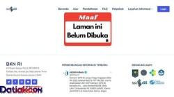 Ujian CASN di Mentawai