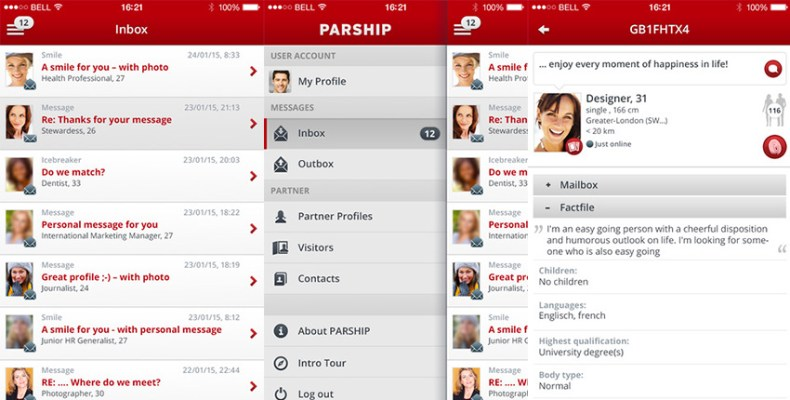 Parship dating app review - Dating App Reviews