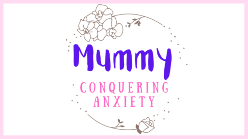 Mummy Conquering Anxiety Advertising Logo