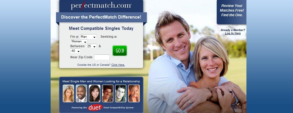 Spotted scams on PerfectMatch.com