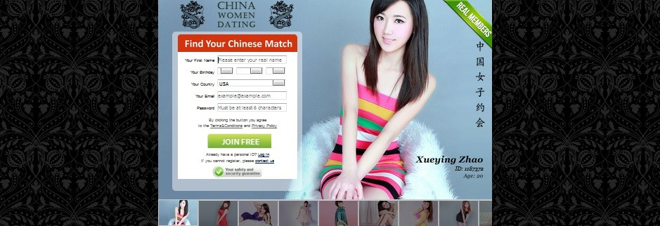 Chinese dating website in usa