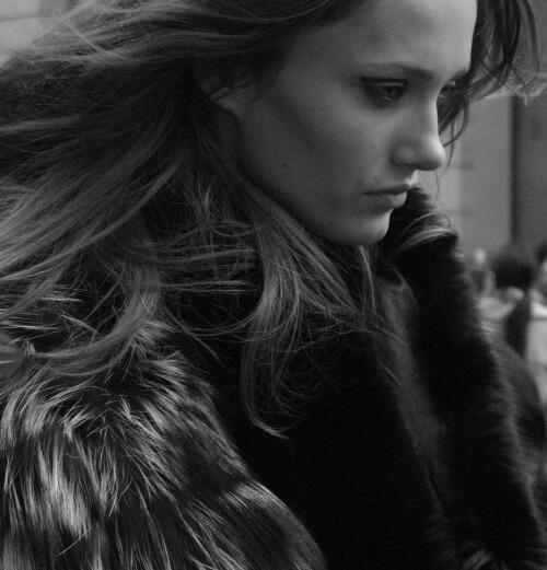 Karmen Pedaru Estonian supermodel