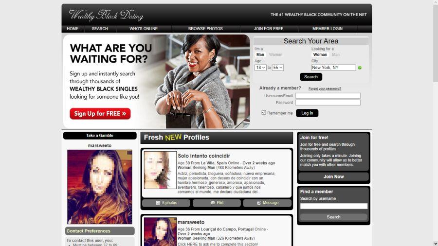 Wealthy Black Dating - Dating Sites Ok