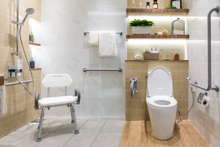 salle de bain pour une personne