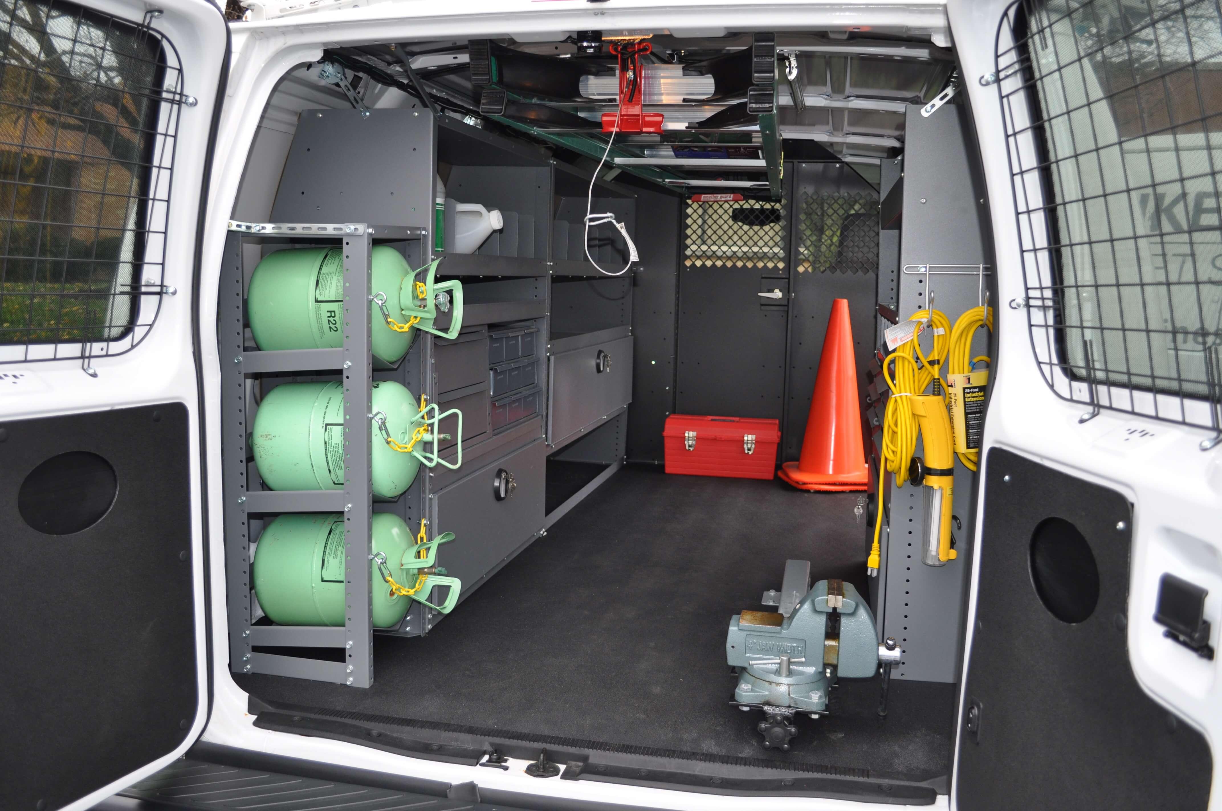 Hvac Truck Setup Mike Albert Upfitting