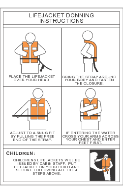 Lifejacket Donning Instructions Datrex
