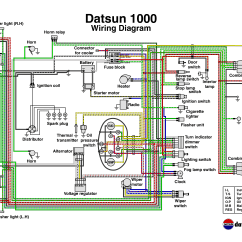 Nissan 1400 Alternator Wiring Diagram Erd Tool Open Source Datsun On 720