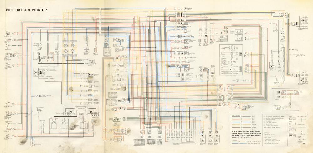 medium resolution of 1981 datsun pickup wiring diagram