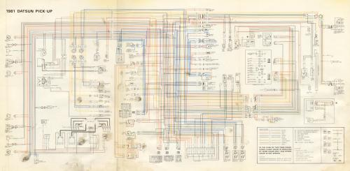small resolution of 1981 datsun pickup wiring diagram