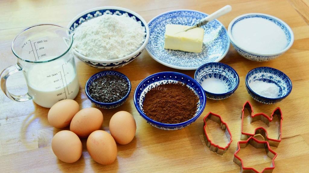 Zutaten Kuchen mit Moscheefüllung