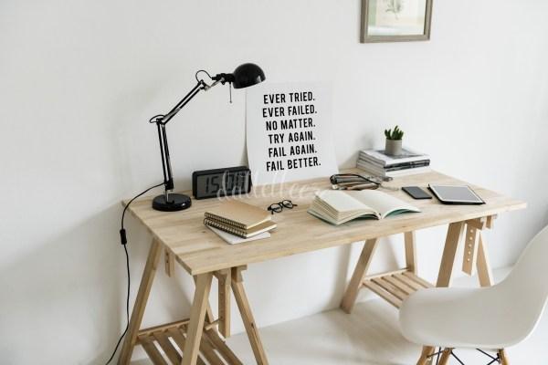 Blogger Schreibtisch