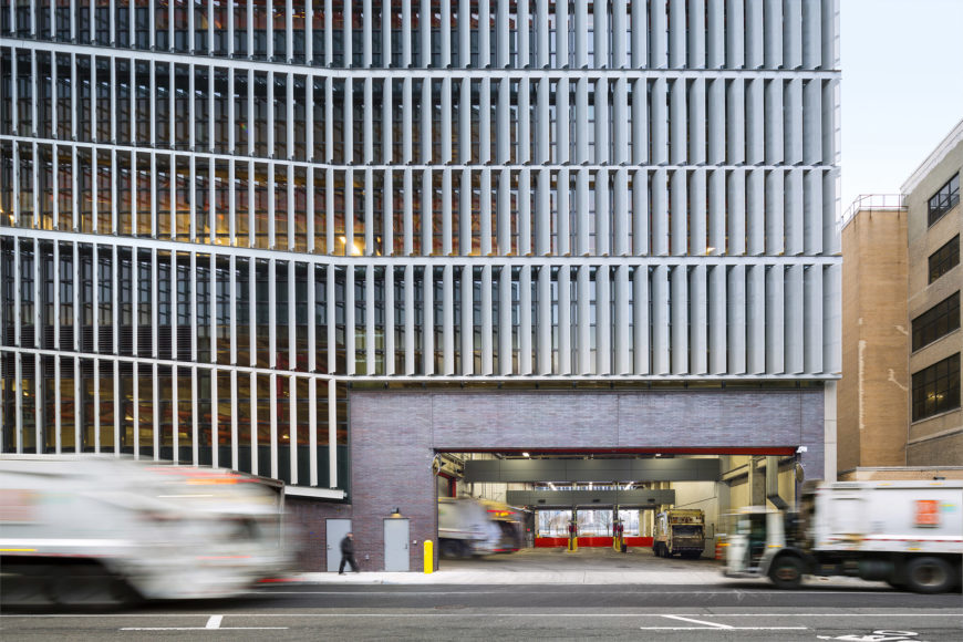 Manhattan Districts 125 Garage  Portfolio  Dattner Architects