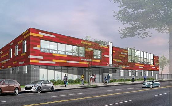 Dattner Architects, Stanley Commons, Prince Joshua Avitto Community Center, Brooklyn, NY