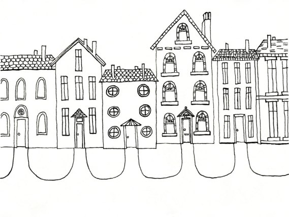 """Community"" print by Frances Marin"
