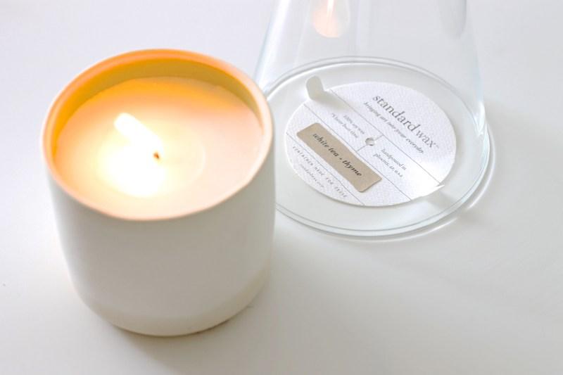 standard wax candle