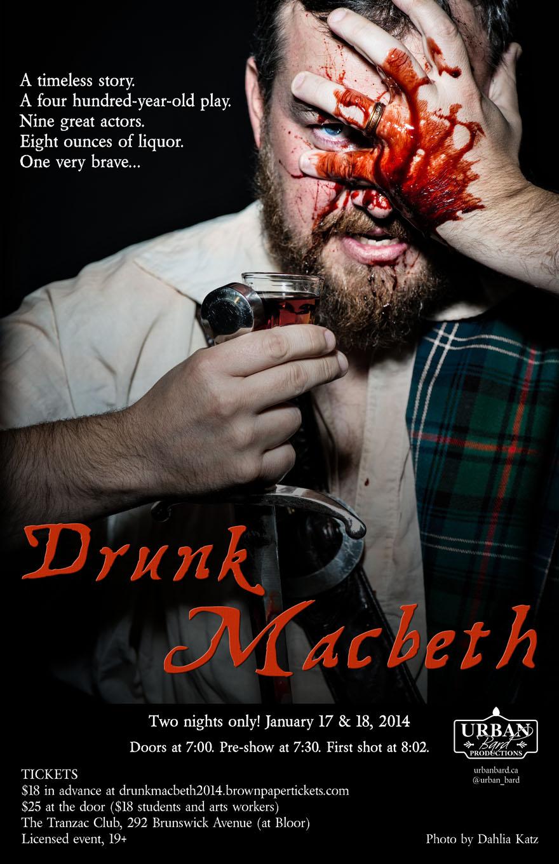 Drunk Macbeth Poster