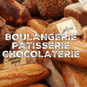 BOULANGERIE - PATISSERIE - CHOCOLATERIE