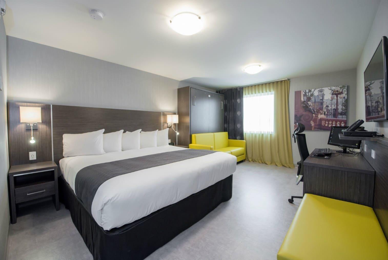 Chambre hotel Quebec  Forfait hbergement