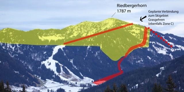 Riedbergerhorn Zone C