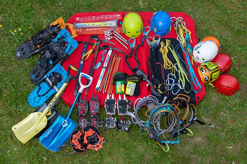 Klettersteigset Dav Leihen : Materialausleihe