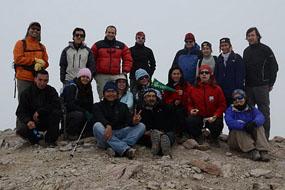 Trekking a Cerro Pintor