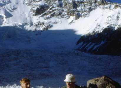 Nevado del Plomo 1950 – Fotos de Eberhard Meier