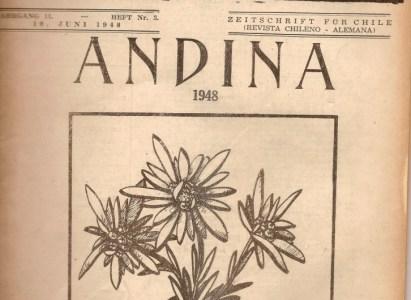 Revista Andina 1948