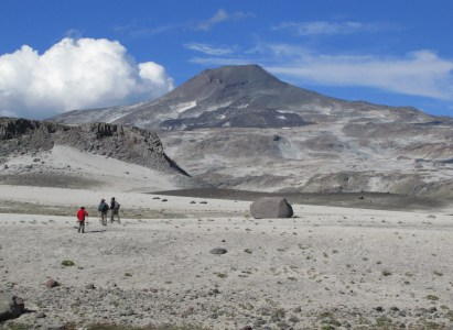 Volcán Descabezado Chico