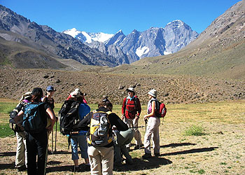 Trekking DAV: Valle del Juncal y Laguna del Inca