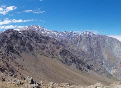 Ascenso cerro Abánico -1° de Junio