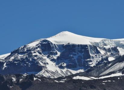 Ascensos Volcán San José y Cerro Marmolejo por ruta del portezuelo