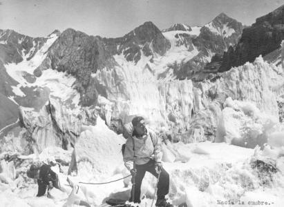 Primera Ascensión del Marmolejo desde el Lado Chileno en 1943